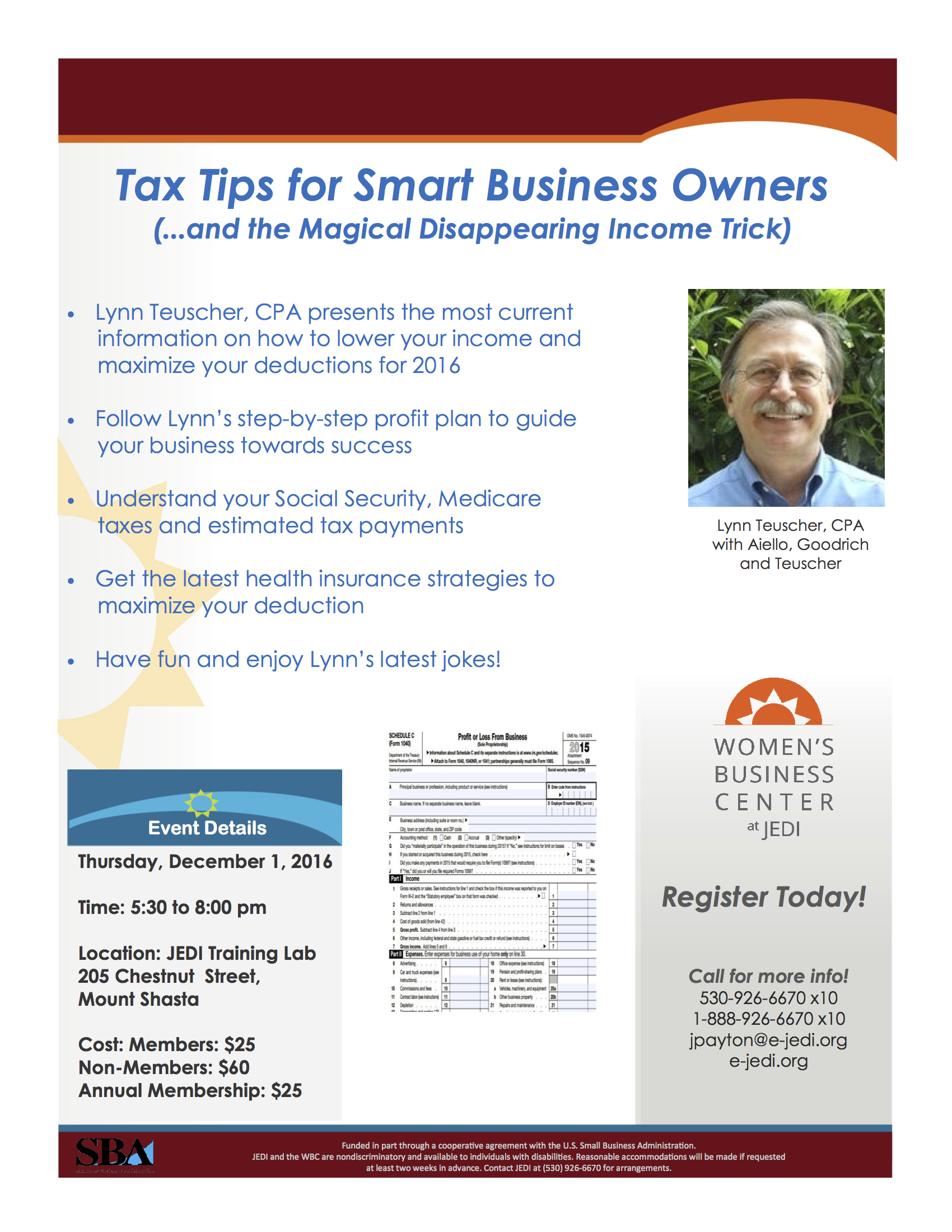 20 Tax Saving Tips For A Business Owner
